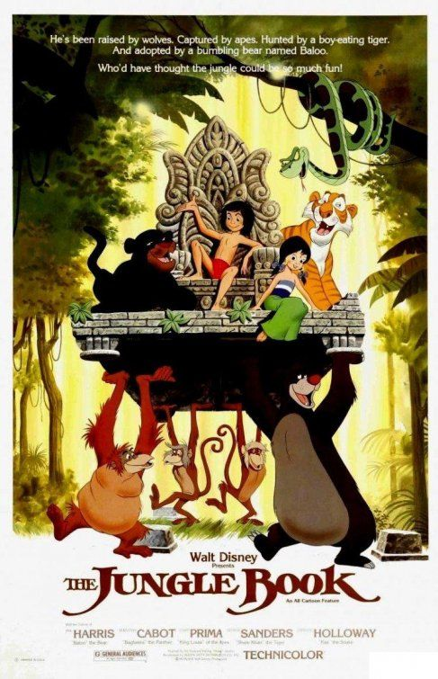 disney the jungle book dvd