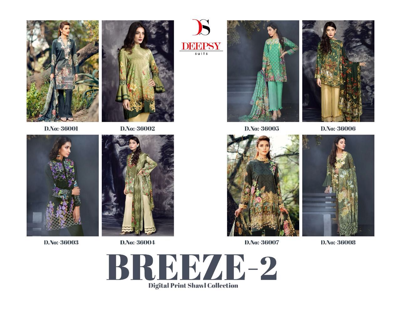 Brand name:- #Deepsy. Catalog name:- #Breeze-2. Set to set only.  www.thestyle.in  For Inquiry and Order : #WhatsApp +917878817191   #Deepsy #Breeze-2.#36001to36008Series #Wholesale Salwar Kameez #Salwar Suits manufacturer #Wholesale Salwar Suits #Salwar Kameez Manufacturer #Casual Suits #Anarkali Suits #Gowns #Straight Suits #Sherwani Suits #Designer Suits #Printed Suits #Wedding Wear Suits #Digital Printed Suits #PartyWear Suits #Cotton Suits #Georgette Suits #Silk Suits #Chanderi Suits #…