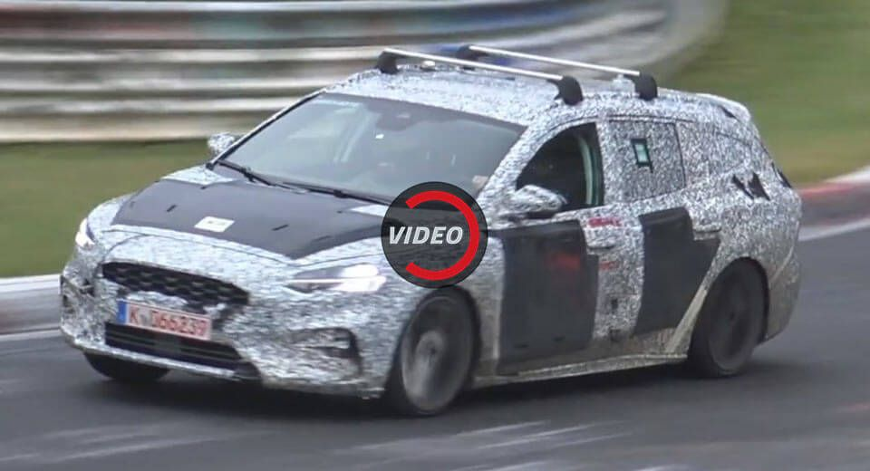 2019 Ford Focus St Estate Might Get A 1 5 Liter Turbo With Over 270 Horses Carscoops Ford Focus St 2019 Ford Ford Focus