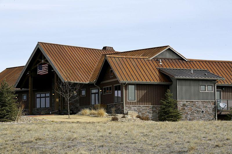 Gallery Flatiron Steel Metal roof, House styles, Flat iron