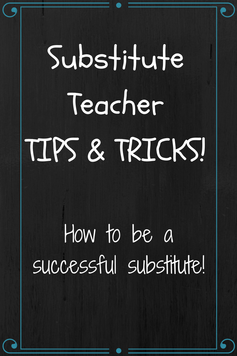 Anyone who has been a substitute teacher