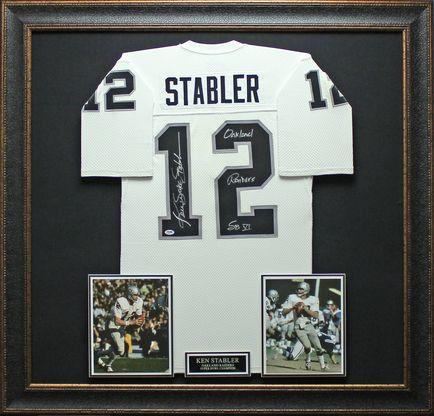 Ken Stabler Signed Jersey Framed | Products | Pinterest | Products