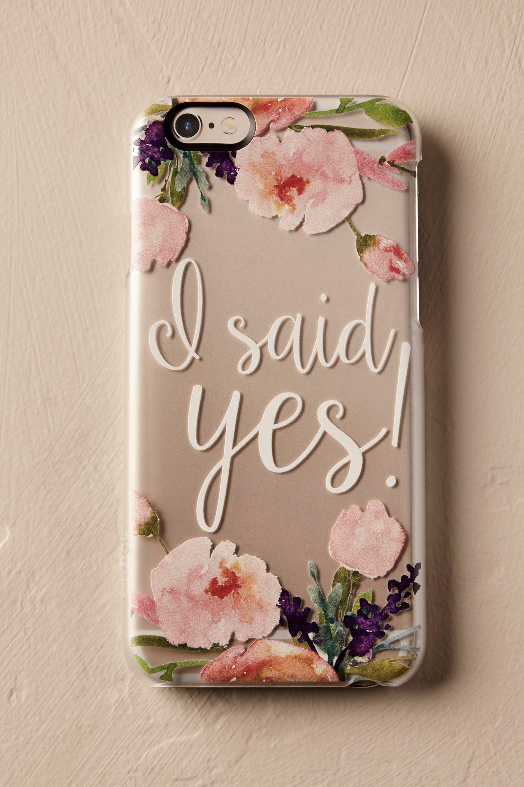 I Said Yes! iPhone Case Iphone cases, Case, I said yes