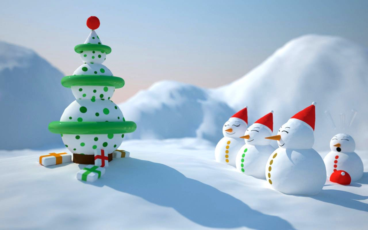 50 beautiful christmas and winter themed wallpapers for your desktop