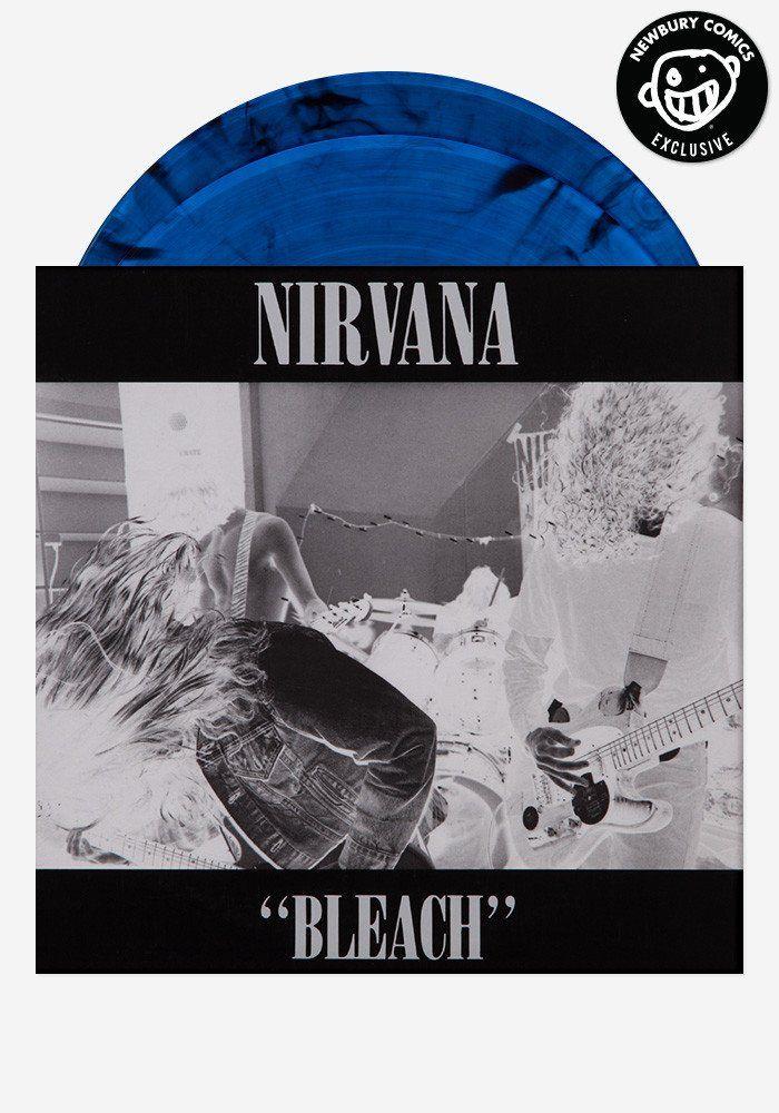 Nirvana Bleach Deluxe Exclusive 2 Lp Newbury Comics Nirvana Vinyl Records