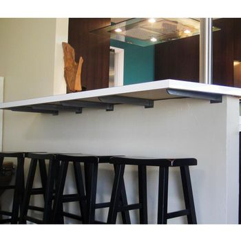 Federal Brace Carrier Hidden Countertop Bracket In 2020