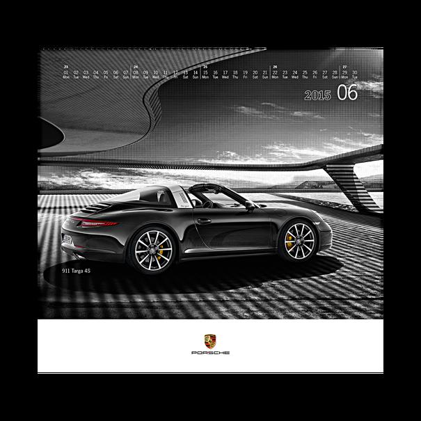 Porsche kalendar 2015