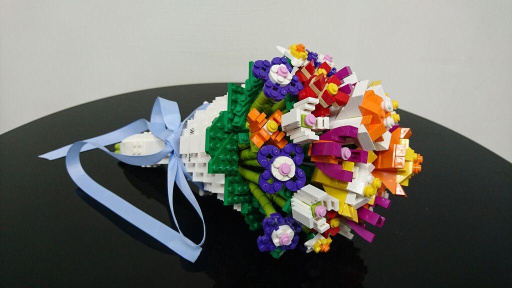 Bouquet lego flower lego tree lego creations