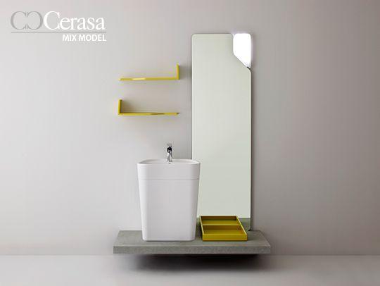 Cerchi mobili per arredare il tuo piccolo bagno scopri mix model