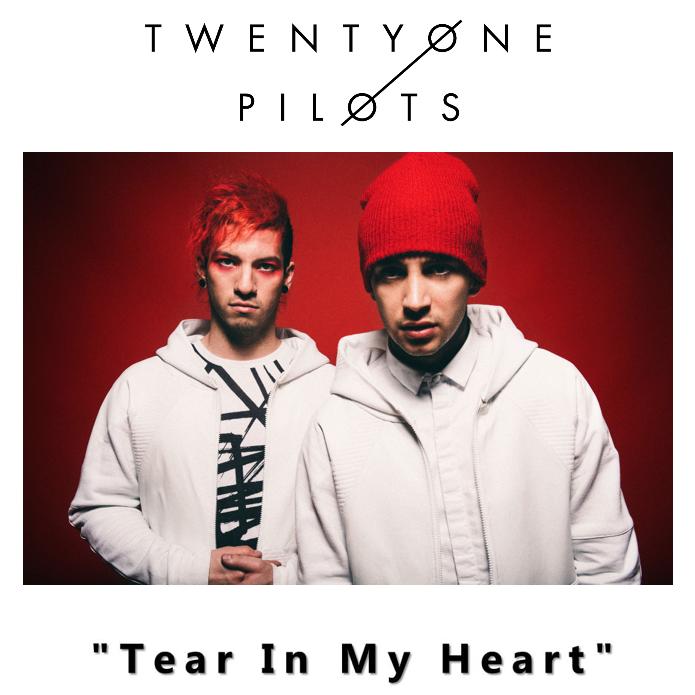 Twenty One Pilots – Tear In My Heart (single cover art)