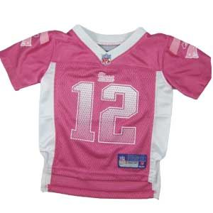 baby tom brady jersey pink