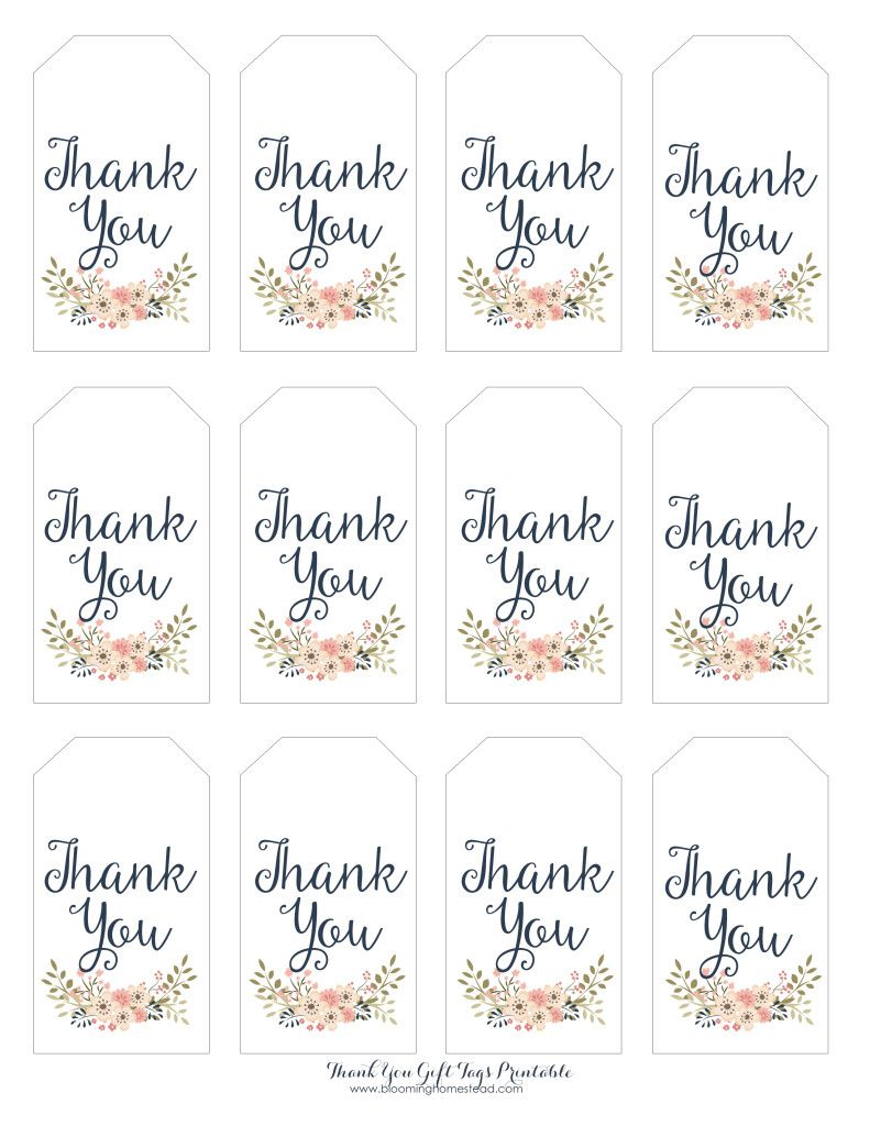 photograph regarding Thank You Printable named Thank By yourself Reward Tags Boy or girl Lady Social gathering Plans Little one shower