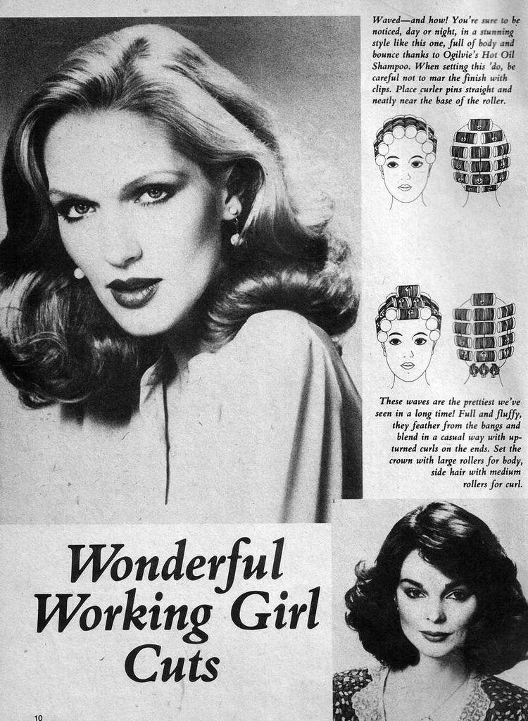 Set N Style 1982 Vintage Hairstyles Tutorial Hair Rollers Vintage Hairstyles
