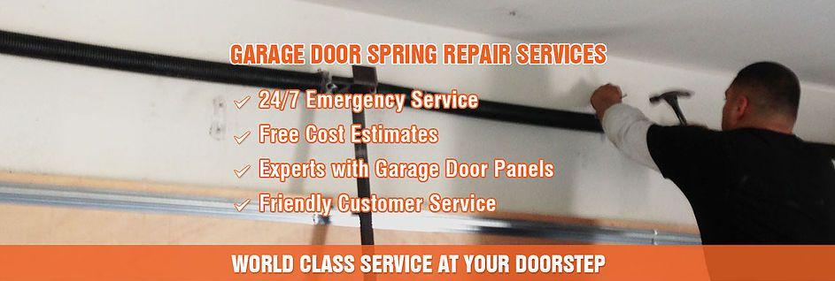 Queens Garage Door Repair Offer Garage Door Services In The New York And Queens Area Our Team Includ Garage Door Spring Repair Garage Door Springs Garage Doors