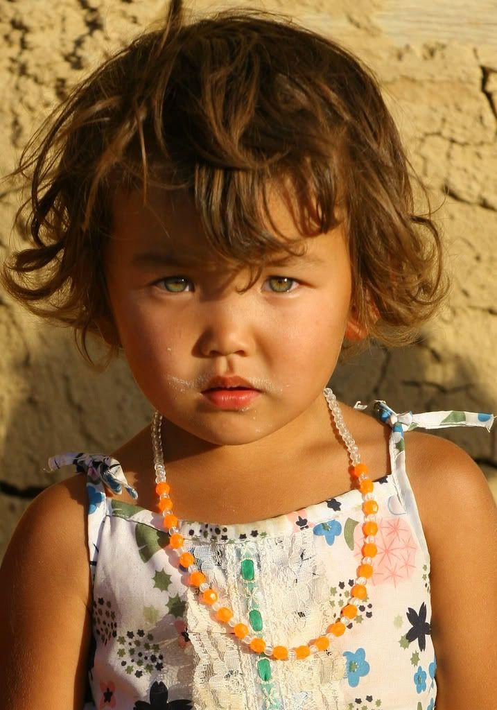 Kazakh Child Beautiful Babies Beautiful Children Kids Around