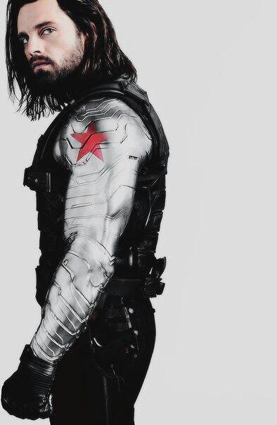 Character Posters Bucky Barnes Infinity War Winter