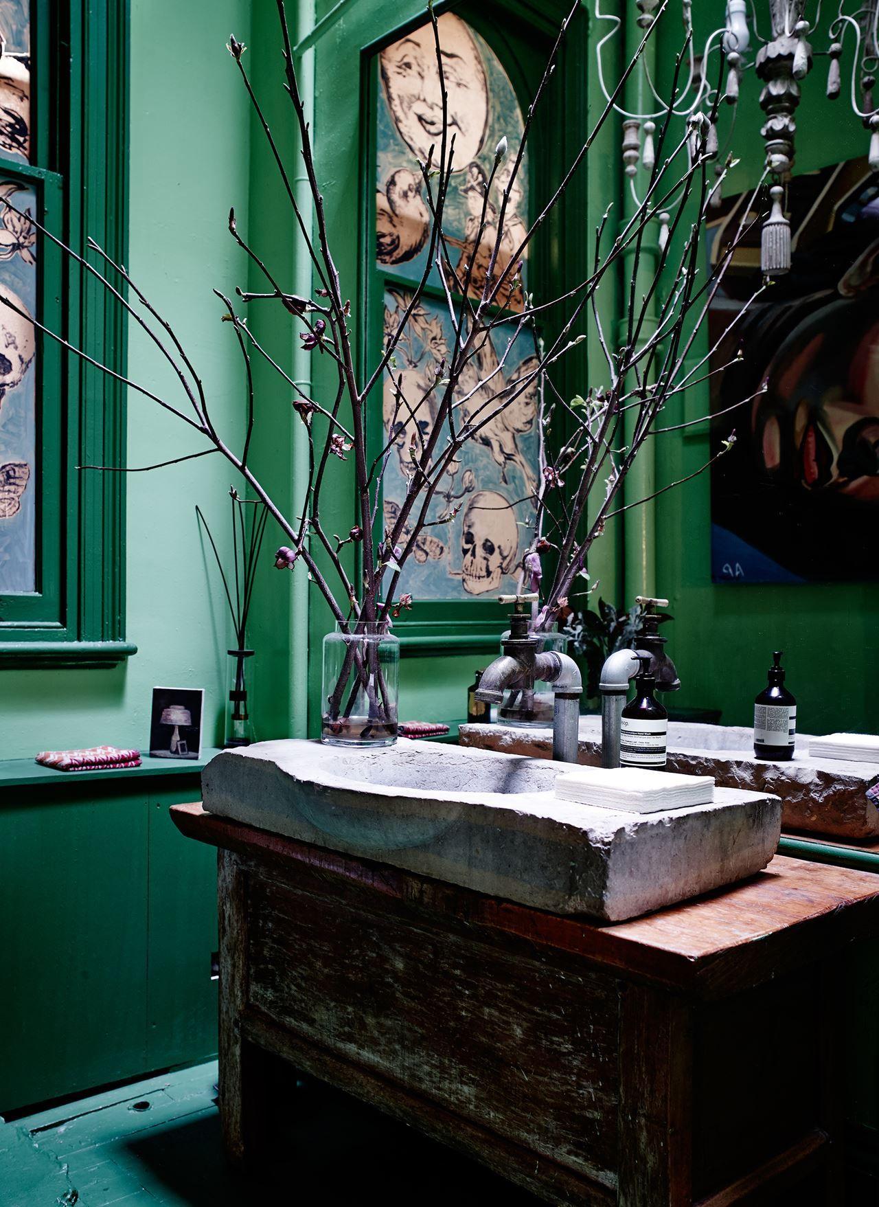 Oxydation Salle De Bain ~ david bromley s eclectic melbourne home pinterest salle de bains