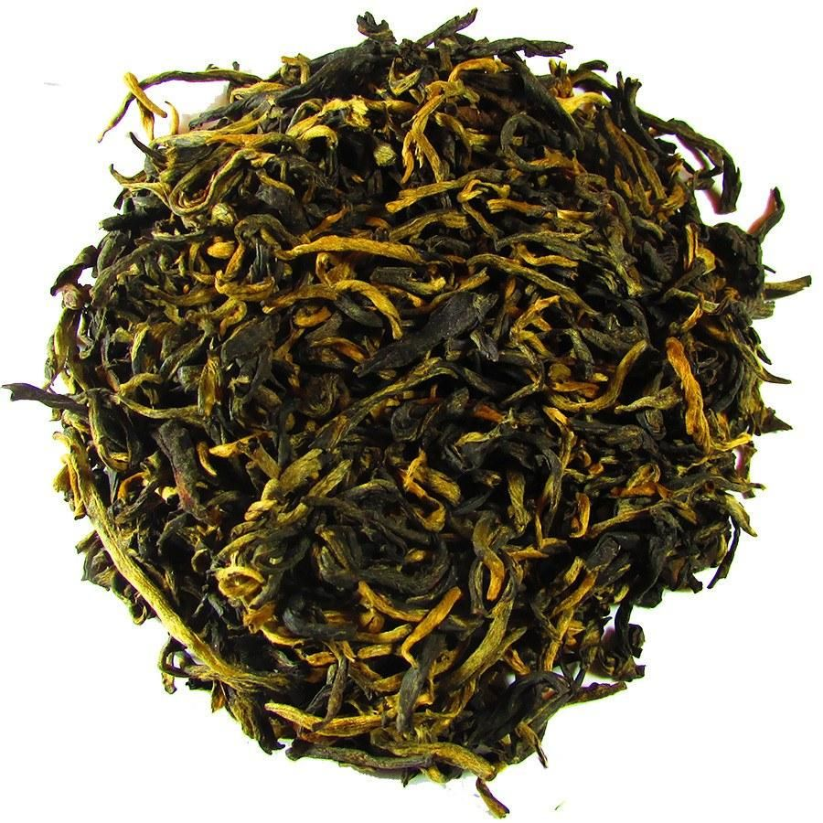 Royal Golden Yunnan Loose Leaf Black Tea 4oz Tin Full Company