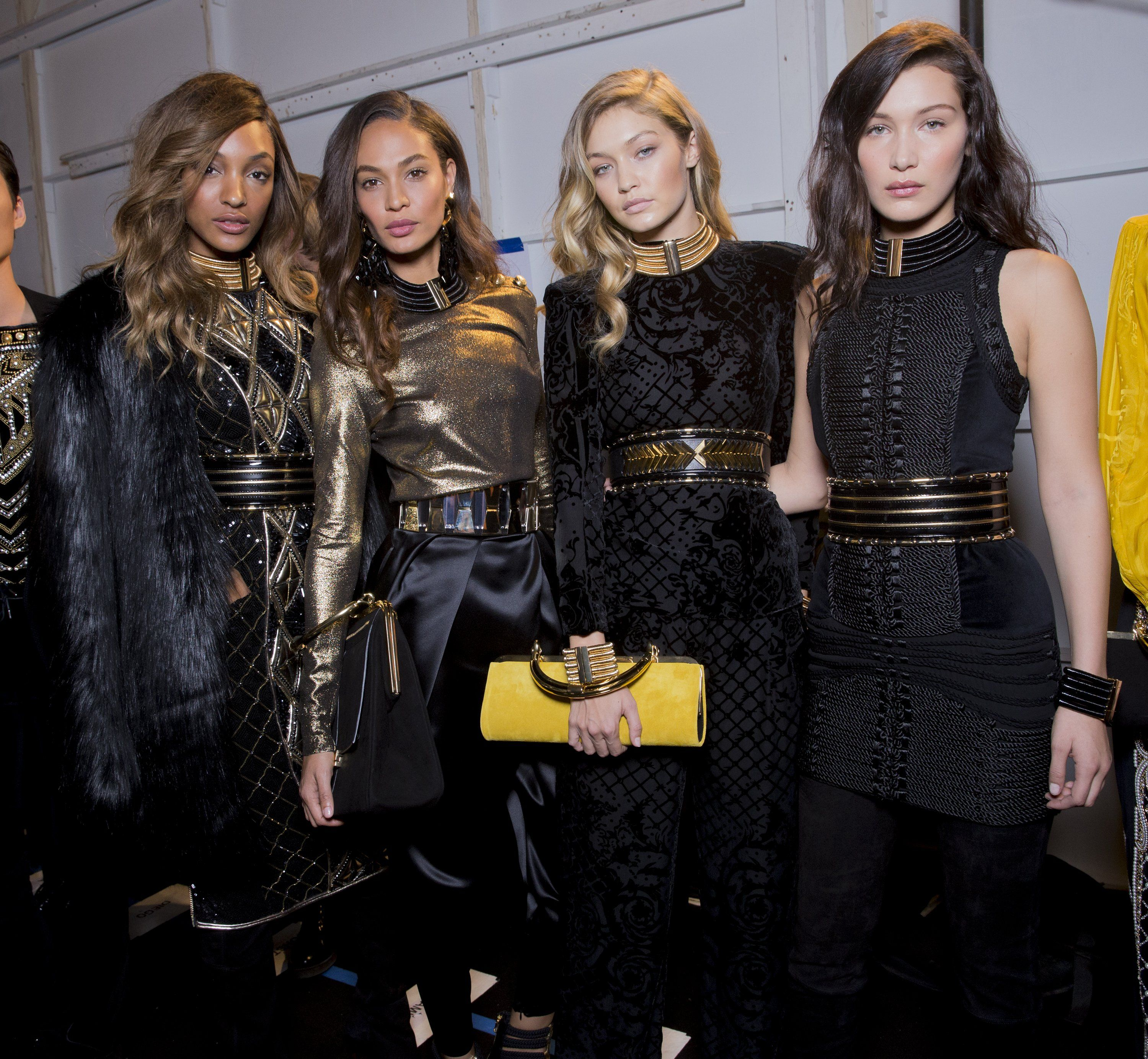 Behind the Scenes at the Balmain x H&M Fashion Show With Kevin Tachman