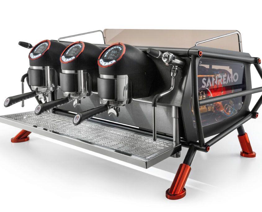 Sanremo Cafe Racer Coffee Machine In 2020 Lavazza Coffee Machine Espresso Machine Design Coffee Machine