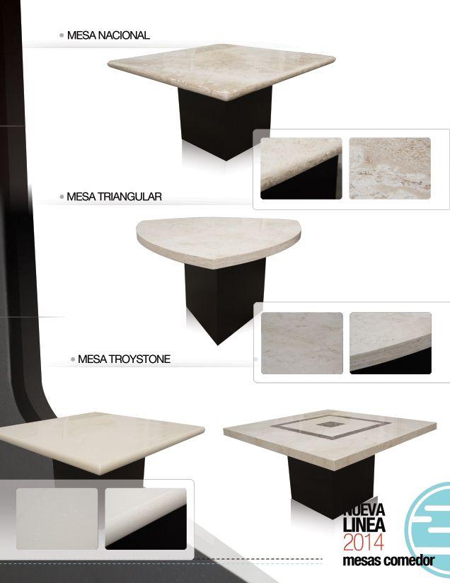 Comedores de marmol de inlab muebles  Catalogo 2014