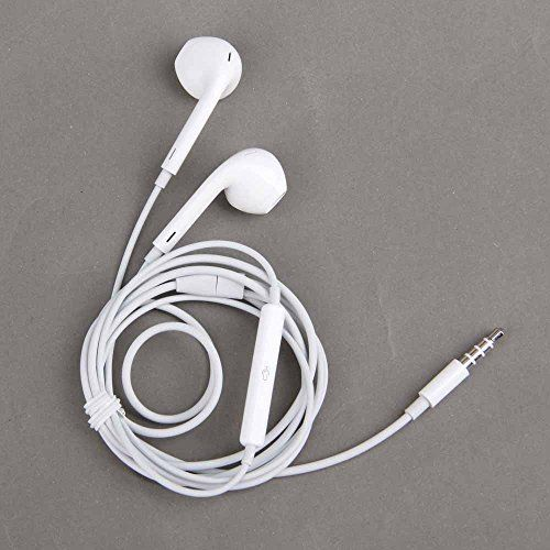 Ztek White High Quality Earphones Earbuds Earpods 3 5mm With Remote And Mic For The Ios Devices And Android Devices C Apple Headphone Apple Iphone 5s Earbuds