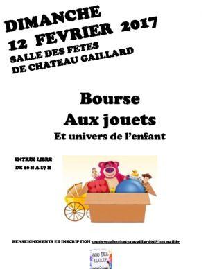Bourse Aux Jouets Du Sou Des Ecoles De Chateau Gaillard Chateau