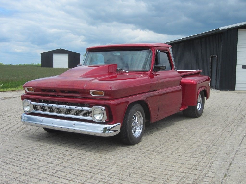 Classic 1964 Chevrolet Pickup vintage truck Truck bed