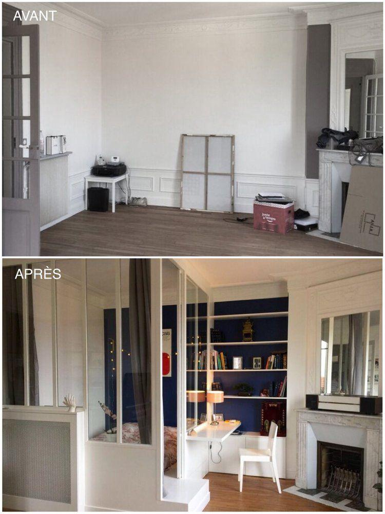 pingl par lou flak sur home decor studio decor et small apartments. Black Bedroom Furniture Sets. Home Design Ideas