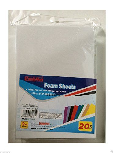 Robot Check Foam Crafts Foam Sheets Craft Supplies Online