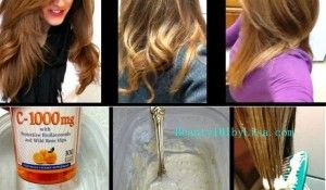 Homemade Hair Lightening And Color Removal Method Alldaychic How To Lighten Hair Lighten Hair Naturally Homemade Hair Products