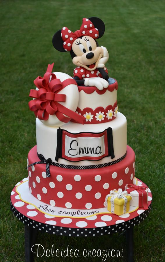 Sweet Minnie By Dolcideacreazioni With Images Minnie Mouse