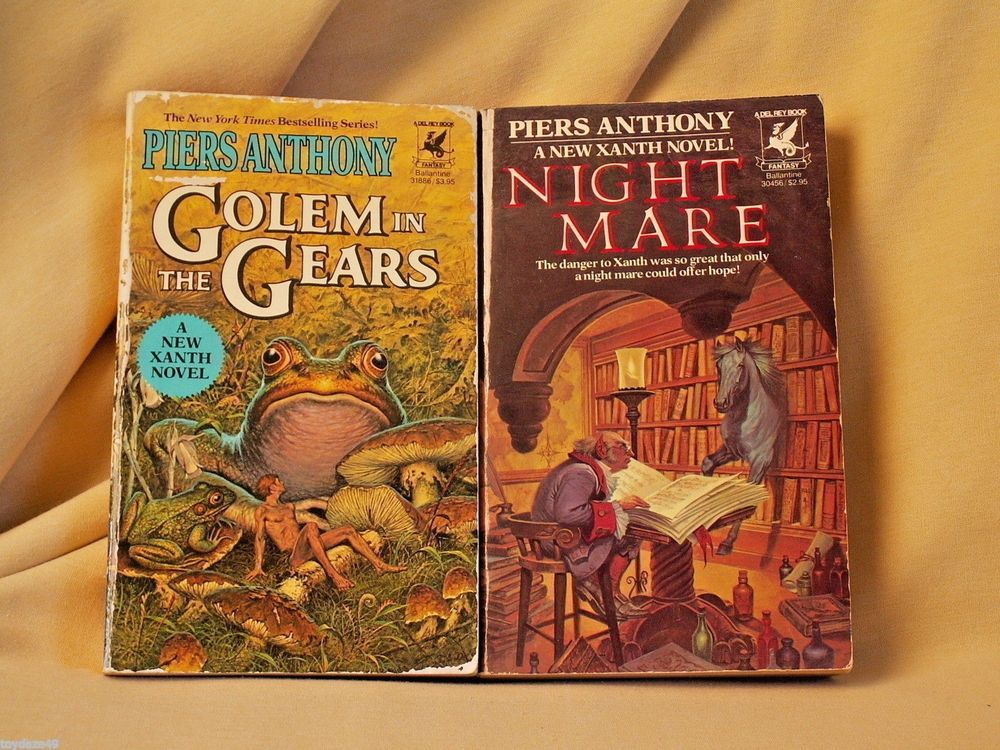 Piers anthony nightmare golem in the gears stated fe 1983