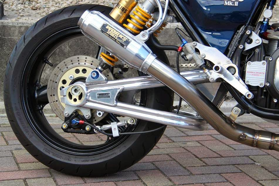 Kawasaki KZ 1000 MKII by Works Sports Racing