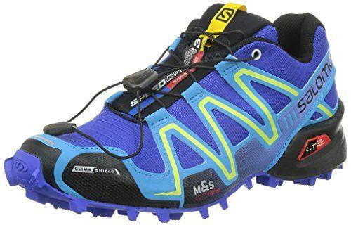 Salomon Women's Speedcross 3 CS W Trail Running Shoe, Cobalt/Blue Line/Black