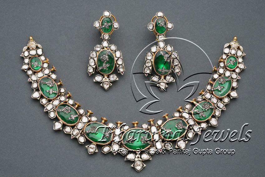 2ff18683aa Victorian Necklace Set | Tibarumal Jewels | Jewellers of Gems, Pearls,  Diamonds, and Precious Stones