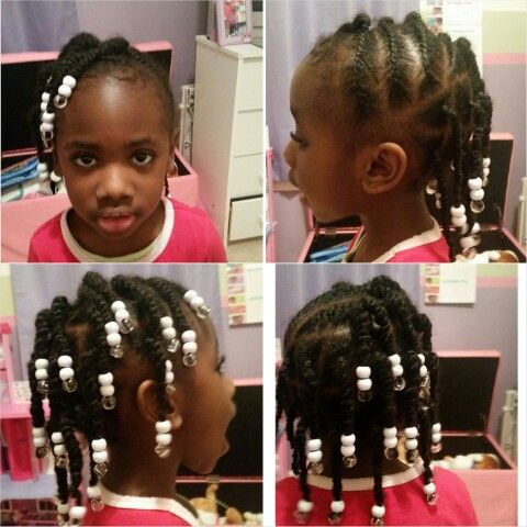 Twists on one side, singles on the rest.