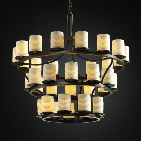 Dakota 36 light 3 tier ring led chandelier inverted 6mf26g berkeley lighting company light 灯 pinterest chandeliers and lights