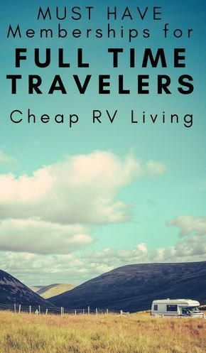 Photo of Cheap RV Living – Must Have Memberships for Full Time Travelers