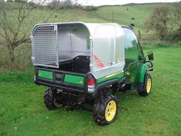 John Deere Gator Livestock Canopy & John Deere Gator Livestock Canopy | Man shed and man shed ...