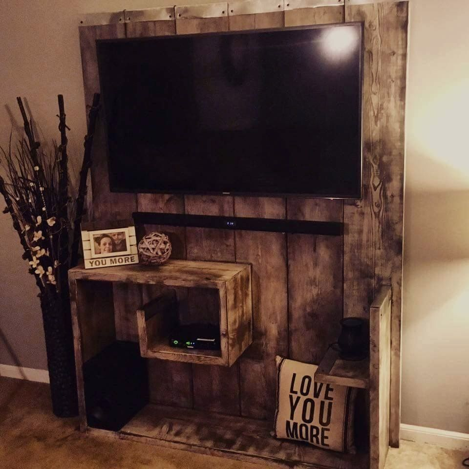 20 Easy Amazing Diy Tv Stands That Anyone Can Make Tutorials