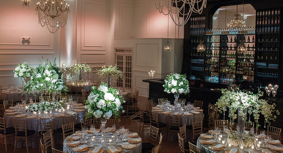 Cescaphe Ballroom Is Classic Wedding Located In Philadelphia The Offers One Of Philadelphias Best Experiences