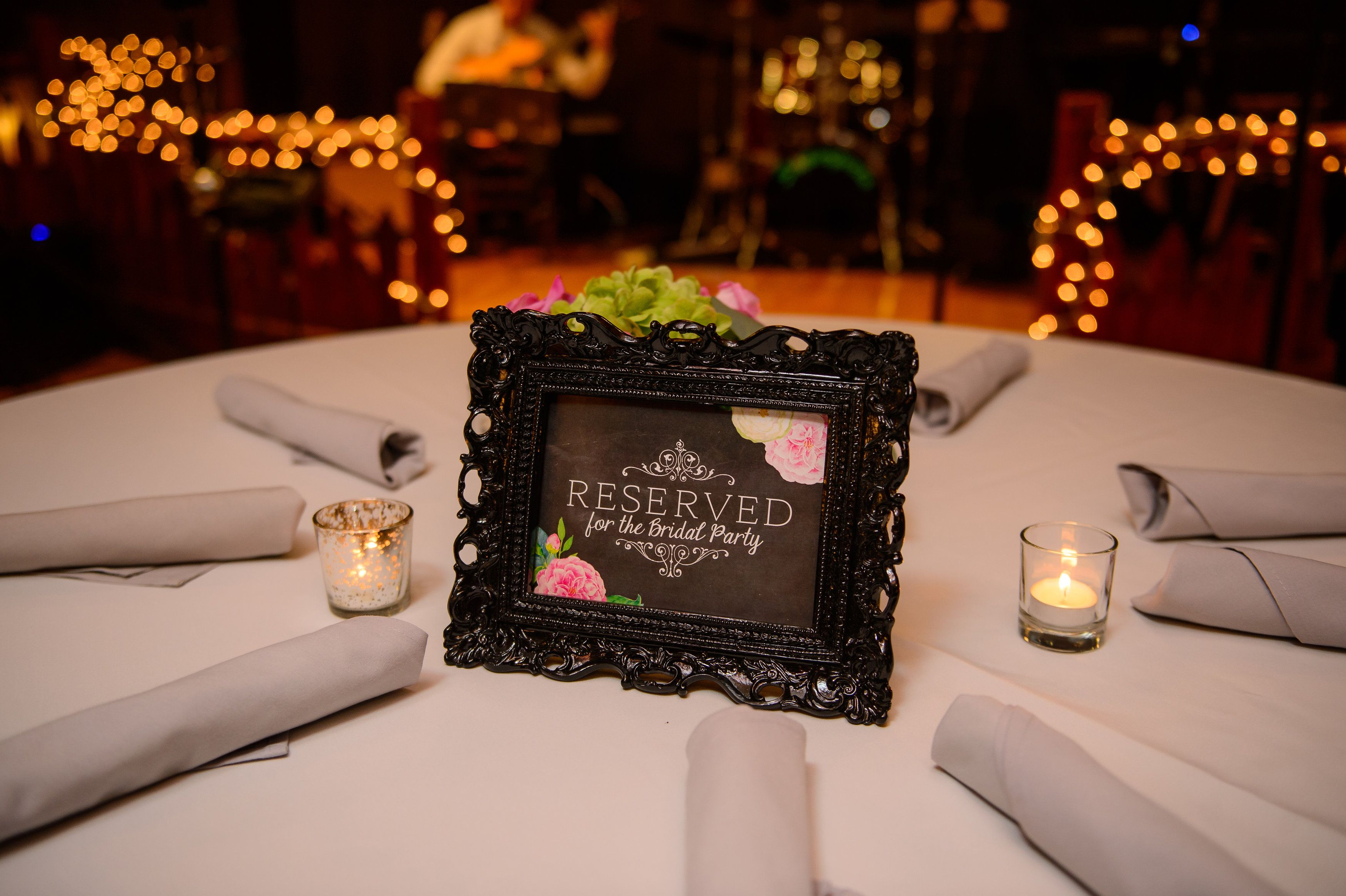 Simple but pretty reserved signs!  Photo by: Adam Padgett Weddings.   #ptopofthebluegrass #ptopweddings2016 #weddingreception #weddingceremony #weddingdecor #weddingreservedsigns #weddingplanner #weddingcenterpieces #distilleryweddings #outsideweddings #weddingcatering #weddingvenues