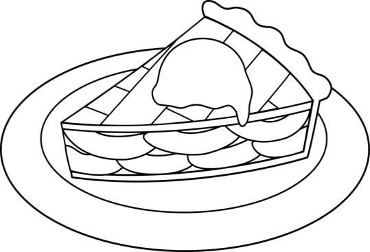 Imgs For > Cherry Pie Coloring Page | sewing: applique | Pinterest ...