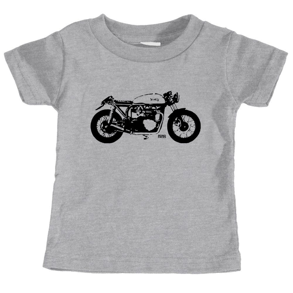 Cafe Racer Baby T Shirt Vintage Motorcycle Baby Tshirt Motorcycle