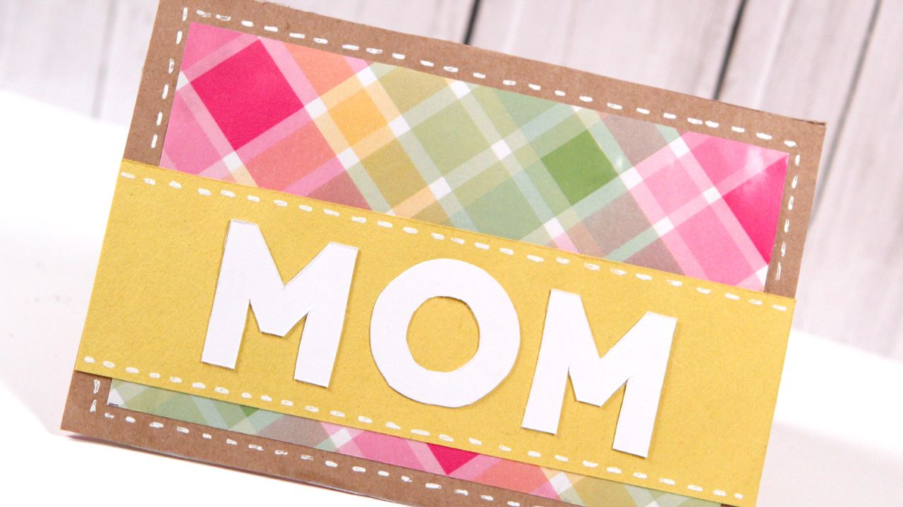 DIY Mother's Day Card – Make a Card Monday