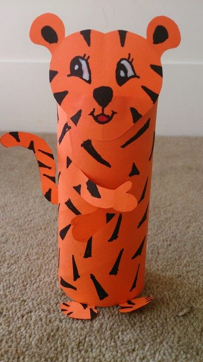Toilet Paper Roll Craft Animal Crafts For Kids Easy Recycled DIY