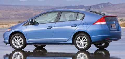 Best Gas Mileage Cars: Honda Civic Hybrid Vs Honda Insight: Tie For Third  Are The Honda Cars, Which Both Give An Estimated Combined 41 Mpg.