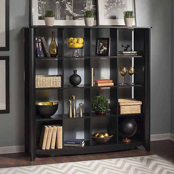 Create A Well Traveled Home Office With Images Cube Bookcase