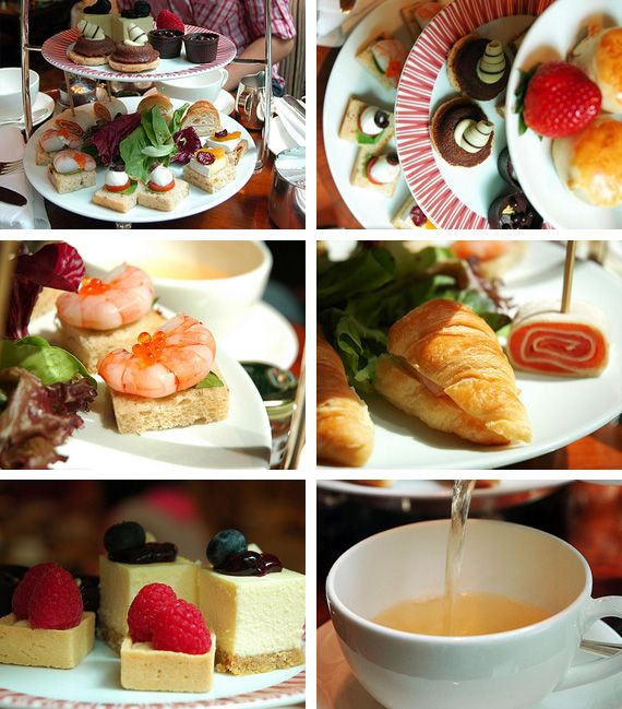 Afternoon tea inspiration F\D Food Presentation \ Pretty Nibbles
